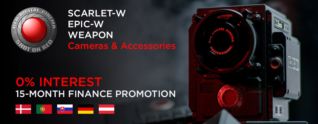 RED 15-month finance promotion